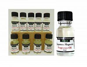 Lot de 10 Huile de parfum Fragrance Magnolia Senteur Ambiance 10 ml - 31 de la marque Générique image 0 produit