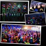 Lot de 100 Bâtons Lumineux Fluorescents, Bracelets Fluorescents Lumineux Glow - 100 bâtons lumineux + 100 connecteurs 3D + 10 connecteurs circulaires + 5 connecteurs 7 trous + 5 connecteurs papillon + 12 connecteurs à œillets Idéal pour le fête de la marq image 1 produit