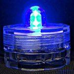 Lot de 12pcs Bougies LED étanche Submersible Lampe (Bleu) de la marque Little ants image 1 produit