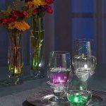 Lot de 12pcs Bougies LED étanche Submersible Lampe étanche Waterproof lumières de thé avec 7 Couleur changeant graduellement de la marque Little ants image 4 produit