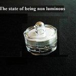 Lot de 12pcs Bougies LED étanche Submersible Lampe (Violet) de la marque Little ants image 2 produit