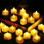 Lot de 24 Bougies LED à Pile Bougies à LED Fausses Bougies électriques pour Votive Anniversaire Mariage fête Noël (Ambre Jaune) de la marque Cookey image 2 produit