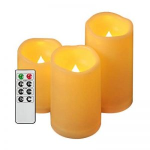 lot de 3 bougies led TOP 12 image 0 produit