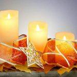Lot de 3 Cierges Cire à LED imitation Flamme Dansante de la marque Flicker Flame image 1 produit