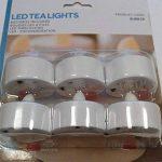 Lot de 30 Bougies Chauffe-Plat à Piles avec Flamme LED Vacillante de Lights4fun de la marque Lights4fun image 3 produit