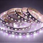 LTRGBW Super Bright RGBW RGB LED blanche Bande flexible Lumière 5M 360 LED une bobine 5050 SMD Lampes Ribbon 24V non-imperméable à l'eau de bande d'éclairage de la marque LTRGBW image 4 produit