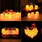 Lumiparty Bougies à LED, LED lumière sans flamme, ressemblant et brillant pour anniversaire, mariage, soirée ou Noël, Lot de 24 PCS de la marque Lumiparty image 4 produit