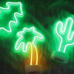Lumière au néon à LED Signs Room Decor Couleur lumières de l'arbre de Noël avec Support USB Night Lights à Piles Table et Lampes de Chevet Table Enseignes au néon pour la décoration Domestique de la marque NaiseCore image 1 produit