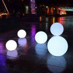 Lumières d'Atmosphère, KEEDA LED Lampe d'Ambiance/Éclairage d'Ambiance Lampe, Lampe Déco et Veilleuse avec Télécommande, 16 Change de Couleurs (15CM) de la marque KEEDA image 3 produit