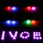 LUXJET Lot de 10 Bougies Led,RGB Submersible Imperméable LED avec télécommande Multi-Coleur/Unicolore pour mariage, Fête, Anniversaire, Piscine de la marque LUXJET image 4 produit