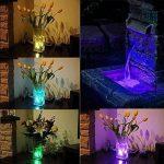 LUXJET® Lot de 10 Bougies Led,RGB Submersible Imperméable LED avec télécommande Multi-Coleur/Unicolore pour mariage, Fête, Anniversaire, Piscine de la marque LUXJET image 1 produit