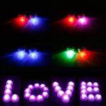 LUXJET® Lot de 10 Bougies Led,RGB Submersible Imperméable LED avec télécommande Multi-Coleur/Unicolore pour mariage, Fête, Anniversaire, Piscine de la marque LUXJET image 3 produit