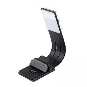 lzndeal Clip-On lampe de lecture LED Bras flexible Liseuse Kindle USB rechargeable 4 niveaux de luminosité pour livres,Kindle,lecteurs de livres électroniques,tablette,iPad,Kobo,ordinateurs portables de la marque lzndeal image 0 produit