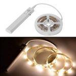 lzndeal Lampe flexible Ruban de LED avec Détecteur de Mouvement Lampe de nuit souple Lampe Autocollant pour Chambre à coucher/Cabinet Lit/Miroir/Salle de Bain/Armoire/Escalier/Couloir de la marque lzndeal image 3 produit