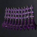 MASUNN 10 X Acrylique Perles Cristal Violet Guirlande Lustre Décoration De Mariage de la marque MASUNN image 1 produit