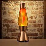 Mathmos Lampe à Lave Astro Cuivre - Jaune / Orange de la marque MATHMOS image 1 produit