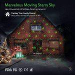 MICTUNING Projecteur LED Noël Etanche 12 Motifs Interchangeables de la marque Mictuning image 2 produit