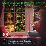 MICTUNING Projecteur LED Noël Etanche 12 Motifs Interchangeables de la marque Mictuning image 4 produit