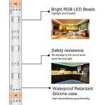 Minger Kit de Ruban à LED Etanche 5M 5050 RGB SMD Multicolore Bande LED Lumineuse avec Télécommande à Infrarouge 44 Touches et Alimentation 3A 12V de la marque Minger image 4 produit
