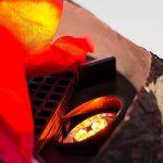 """MiniSun Éclairage de Nouveauté """"Feu De Campe"""" Effet Bûches Brûlant à LED. En """"Nature"""". Bloc NF / Euro Fourni de la marque MiniSun image 3 produit"""