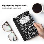 Moko Etui Liseuse Kindle Paperwhite - étui Flip en Cuir Super Fin et Léger pour Amazon Liseuse Kindle Paperwhite (Convient à Tous Les Modèles: 2012,2013,2015 et 2016), Carnet Noir de la marque MoKo image 3 produit
