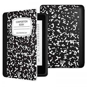 Moko Etui Liseuse Kindle Paperwhite - étui Flip en Cuir Super Fin et Léger pour Amazon Liseuse Kindle Paperwhite (Convient à Tous Les Modèles: 2012,2013,2015 et 2016), Carnet Noir de la marque MoKo image 0 produit