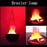 Momola Lampe de feu d'incendie de flamme de lumière de LED d'effet simulé (B) de la marque Momola image 2 produit