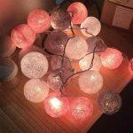 mymotto LED Fée Lumières Boules 3m 22s Coton Balles Batterie/USB / Plug Noël Célébration Jardin Terrasse Chambre Déco… de la marque mymotto image 1 produit