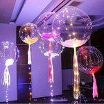 Mystery&Melody 10 pcs LED Bobo Ballon Lumières Réutilisable Les lampes Décorations pour Festival Anniversaire Fête Lumineux 18 pouces Guirlandes (Balloons 10PCS) (Balloons 10PCS) (Balloons 10PCS) de la marque Mystery&Melody image 2 produit