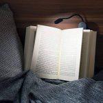 Navaris Lampe de lecture LED - Lampe à pince rechargeable via câble micro USB - Liseuse pour chevet bureau lit - Flexible et lumière réglable de la marque Navaris image 1 produit