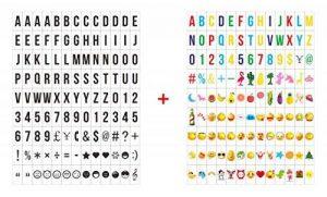 NectaRoy Cinema Sign Avec 234 Lettres Noires, Pastel Color Letters, Pastel Color Emojis et Symboles Décoratifs Spéciaux pour l'Utilisation avec A4 Lightbox de la marque NectaRoy image 0 produit