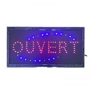 Neon lumières LED animés ouvert Signe Clients Attractive signer Store Shop Sign 220V France de la marque RongZhan image 0 produit