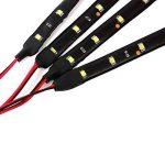 Neuftech® 4x Bande Eclairage Flexible Lampe 15 SMD LEDs 30cm 12V Etanche blanc pour voiture 30cm de la marque Neuftech image 4 produit