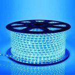Neverland 50M Bleu SMD 5050 LED Ruban Bande Strip 30LEDs/M éclairage étanche IP67 Waterproof Utiliser directement pas besoin de l'adapteur de la marque Neverland image 1 produit