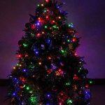 Noël Guirlande lumineuse LED, 100 Multicolore LEDs sur Câble Vert pour Noël, Sapin, Maison, Fêtes, Mariages, Anniversaire, Nouvel An de la marque YOSION image 3 produit
