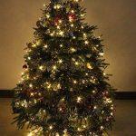 Noël Guirlande lumineuse LED, 200 Blanc Chaud LEDs sur Câble Vert pour Noël, Sapin, Maison, Fêtes, Mariages, Anniversaire, Nouvel An de la marque YOSION image 3 produit