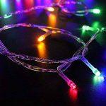 Noël Guirlande lumineuse LED, 300 Multicolores LEDs sur Câble Transparent pour Noël, Sapin, Maison, Fêtes, Mariages, Anniversaire, Nouvel An de la marque YOSION image 2 produit