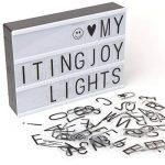 NXDRS enseigne lumineuse LED, lightbox avec 90 lettres et symboles de la marque NXDRS image 1 produit