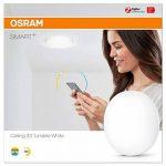 Osram SMART+ - Applique/Plafonnier Connecté LED Zigbee - Diamètre 33cm - du Blanc Chaud 2000K au Blanc Froid 6500K - Compatible avec Alexa de la marque Osram image 2 produit