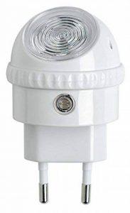 OSRAM - Veilleuse Secteur LED Lunetta - 220-240V - Capteur de luminosité - Orientable à 360° - 52lm de la marque Osram image 0 produit