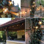 OXYLED Guirlandes Lumineuses,Lumières de Ficelle extérieures, [Version améliorée] G40 25ft Globe Patio Jardin extérieur lumières de Guirlande, décoratif ficelles de lumières de la marque OXYLED image 3 produit