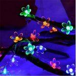 PEIQI LIGHT Guirlande Lumineuse À Piles 2M 20 LED Lumières Fleurs De Cerisier Lumières De Noël Lumières Fil De Cuivre pour DIY Dîner De Mariage Partie Chambre De Noël Décor de la marque PEIQI LIGHT image 2 produit