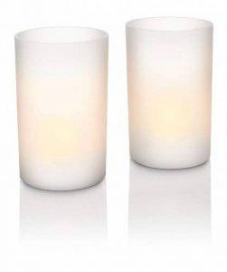 Philips Candle Lights 2 Set Lampes de Tables de la marque Philips Lighting image 0 produit