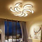 Plafonnier Lumière Simple Moderne LED Lumière Romantique Lampe Creative Éclairage 9 Têtes,Dimming de la marque YAYONG image 2 produit