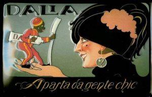 Plaque de Dalla Dentifrice Dalia enseigne publicitaire rétro nostalgie bouclier de la marque Buddel-Bini Versand image 0 produit