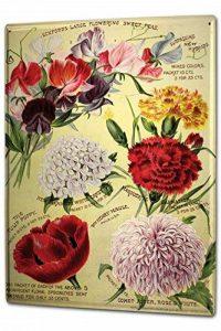 Plaque émaillée Posters Enseignes en métal Panneaux Plaques XXL Florale Flore Fleuriste de la marque Leotie GmbH image 0 produit