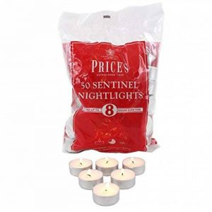 Prices Patent Candles Sac de 50 Bougies chauffe-plats de la marque Prices Patent Candles image 0 produit