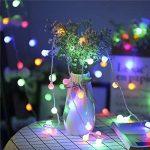 ProGreen Guirlande Lumineuses Boules, 40 Led boules, Longueur 4.5 Mètres, 8 Modes d'éclairage, Décoration Pour Noël Jardin Mariage Terrasse Pelouse Pâques,Maison,Fête(Multi-couleur) de la marque ProGreen image 2 produit