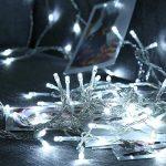 Qedertek Guirlande Lumineuse Micro 200 LED Blanc Froid 20m de Long pour Décoration de Chambre, Vitrine, Bistrot, Noël, Mariage de la marque Qedertek image 1 produit