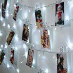 Qedertek Guirlande Lumineuse Micro 200 LED Blanc Froid 20m de Long pour Décoration de Chambre, Vitrine, Bistrot, Noël, Mariage de la marque Qedertek image 3 produit